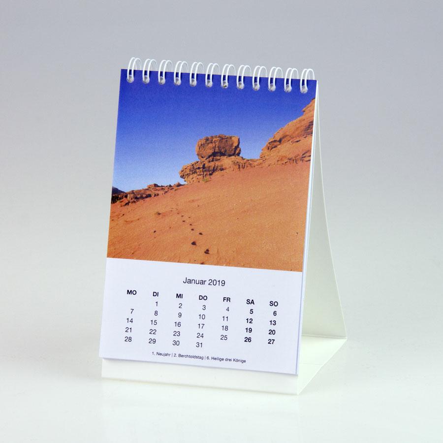 Tischkalender hoch