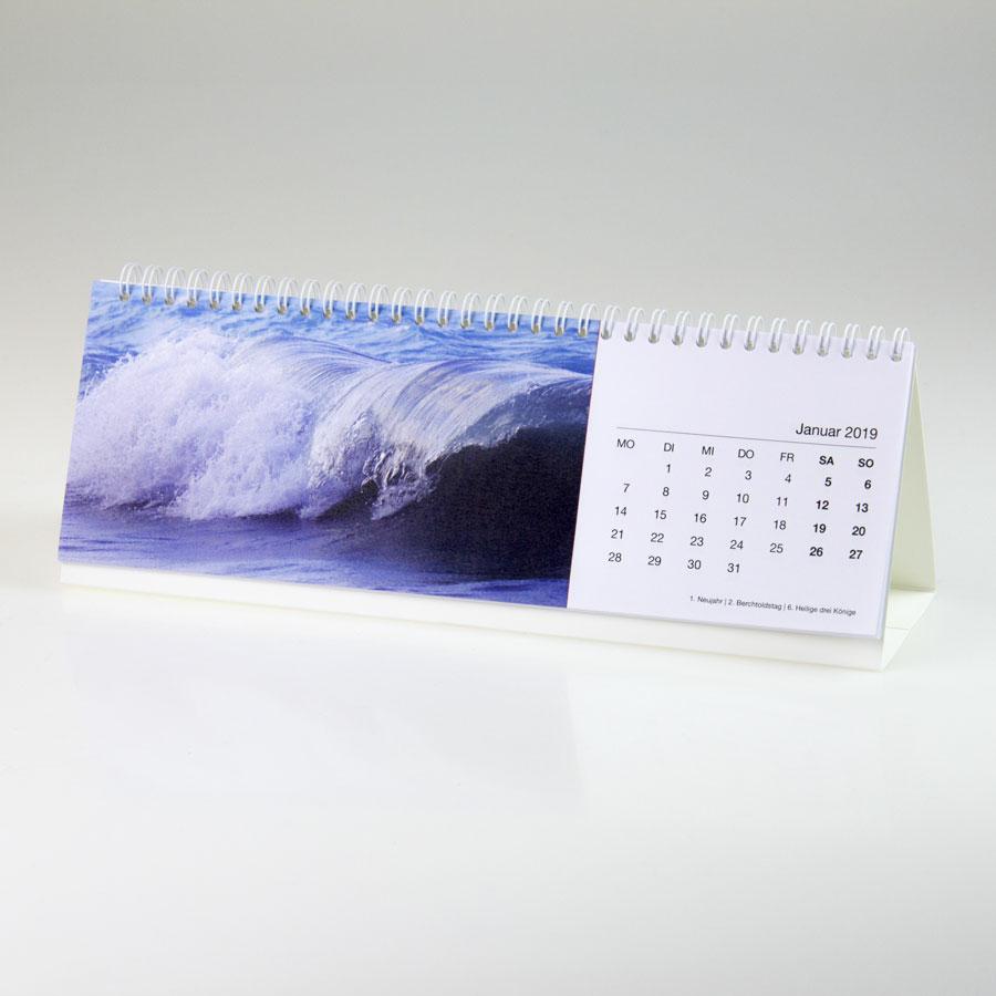 Tischkalender quer