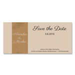 Save-the-Date, 1 Seite