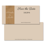 Save-the-Date,2 pages