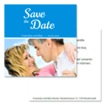 Save-the-Date, 2 Seiten