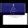 Christmas card «Stars»