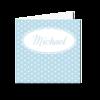 Geburtskarte Lisa / Lukas