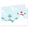 Christmas Card «Snowman II»